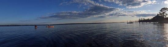 West Columbia, SC: Sunset kayaking on Lake Murray