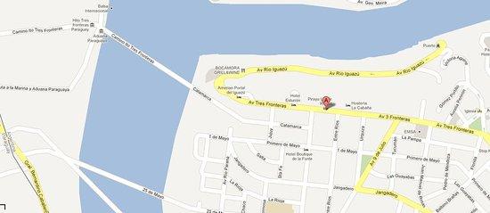 Pirayu Lodge & Resort: Location Map