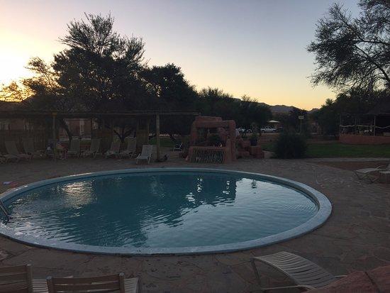 Sesriem, Namibia: Pool