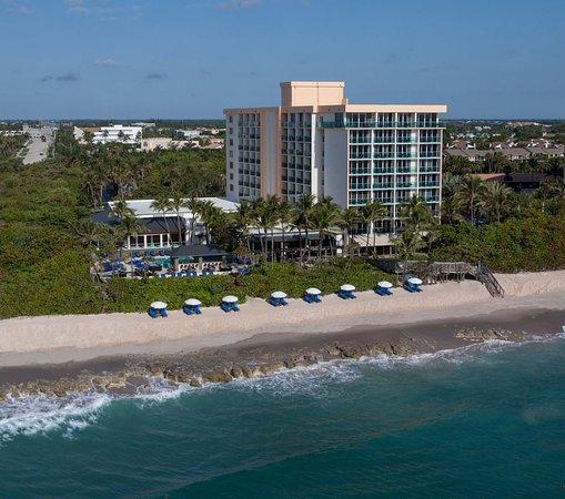 Jupiter Beach Resort: Beach Ariel Shot