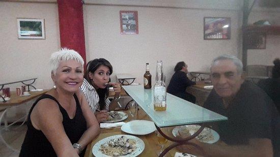 Montelupo Fiorentino, Italy: Una cena de despedida amena como cada vez que visitamos el lugar