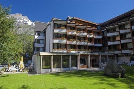 Лейкербад, Швейцария: Hotel Exterior