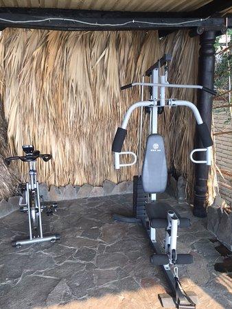 Laguna Lodge Eco-Resort & Nature Reserve: The gym