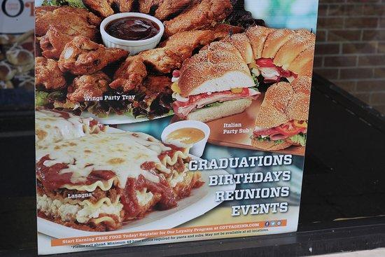 cottage inn pizza southfield mi catering for graduation rh tripadvisor com  cottage inn lansing catering