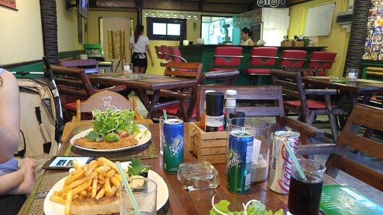 Restaurant Bamboo Grill & Bar : Das Restaurant ist kleiner als zuvor