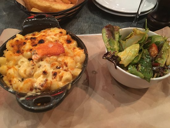 Big Easy Covent Garden Mac N Cheese With Lobster