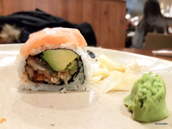 Sushi On Bloor: Salmon Dragon Roll
