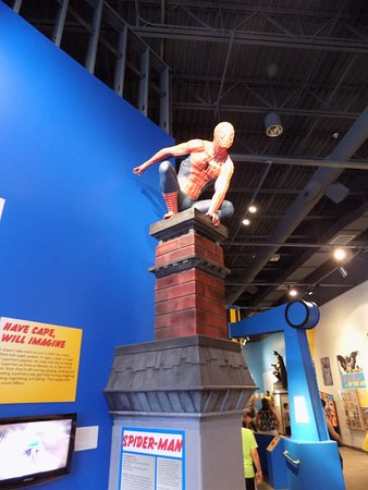 Rochester, Nowy Jork: From the Comic Heroes exhibit