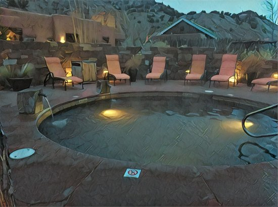 Ojo Caliente, Nuevo Mexico: I can't wait to go back this spring!