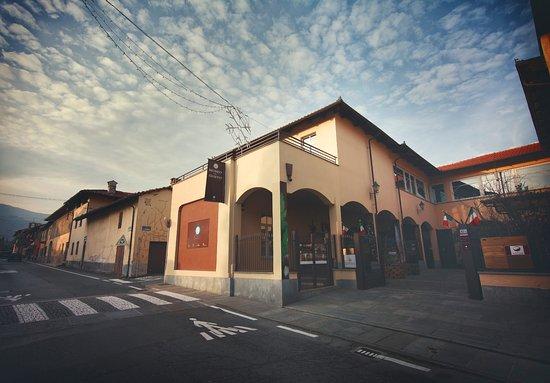 Frossasco, Italy: Struttura esterna del Museo del Gusto
