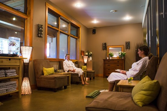 Fernie, Canada: Large spa relaxation area