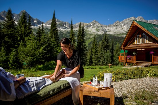 Fernie, Kanada: Signature outdoor summer pedicure!