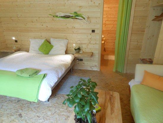 L'Atelier de Gisèle : chambre double confort à 75€ lit 180 cm