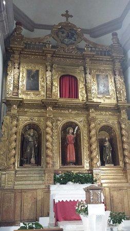 Iglesias, Italy: Cattedrale di S.Chiara: retablo di S.Antioco
