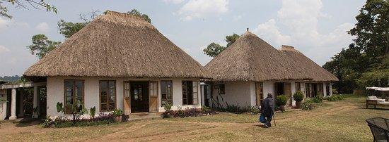 Fort Portal, Ουγκάντα: restaurant and bar area