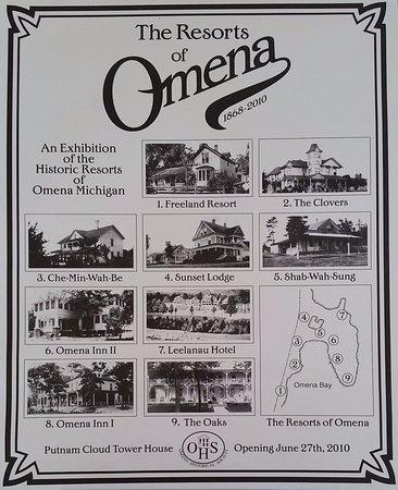 Historic Omena resorts