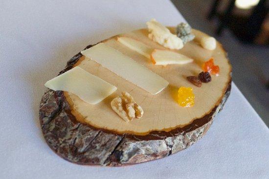 El Escorial, สเปน: Tabla de quesos