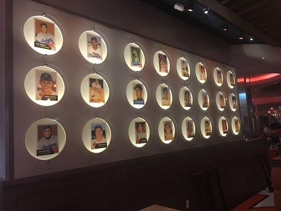 Ny Baseball Card Wall Picture Of Juniors Restaurant Boca