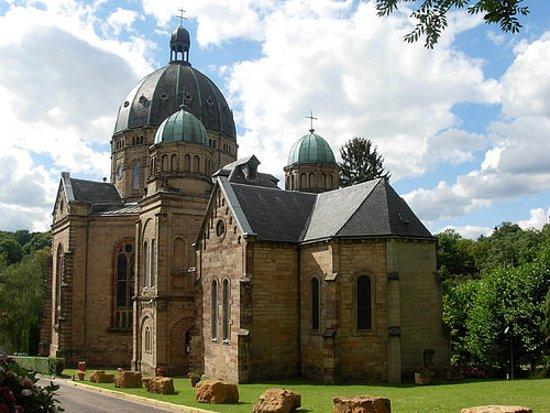 Saint-Avold, ฝรั่งเศส: Basilique Notre Dame de Bon Secours en péril