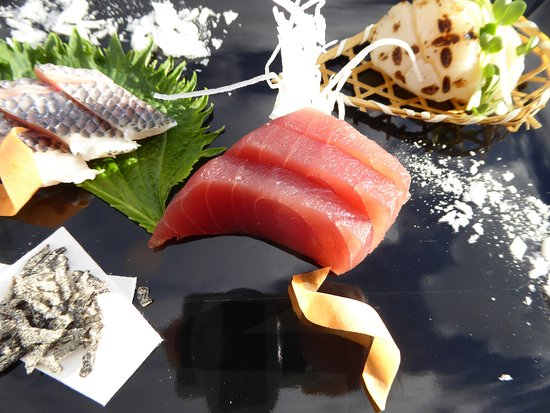 Widen, Schweiz: Sashimi creation of the month