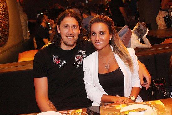 Cassio goleiro do corinthians e esposa foto de taj bar for Goleiro muralha e esposa