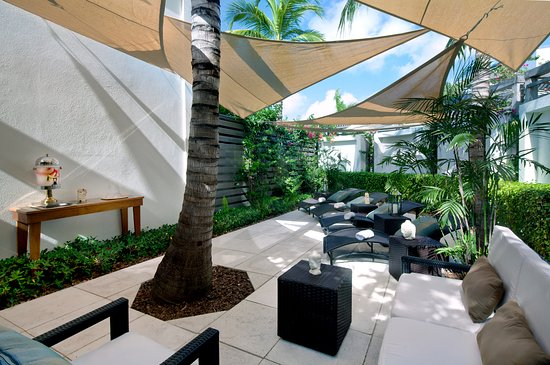 Gansevoort Turks + Caicos: Exhale Spa Relaxation Lounge