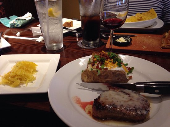 Lutz, FL: Renegade sirloin and loaded baked potato