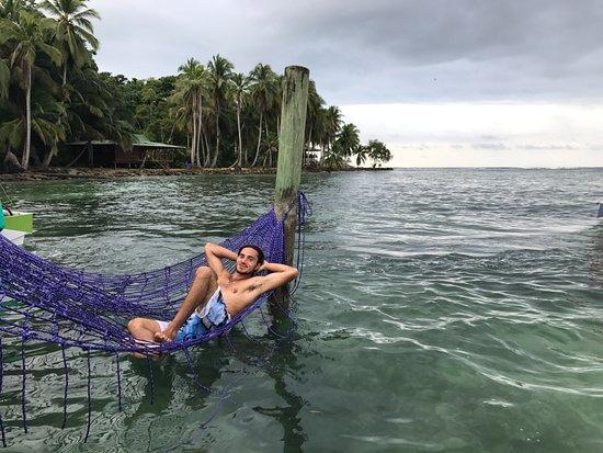 Bocas Paradise Hotel: Ocean hammocks at the beach club