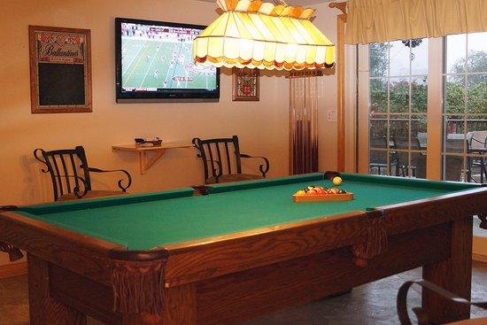 Cloverdale, Californie : Billiard room