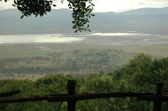 andBeyond Ngorongoro Crater Lodge: Vista al cráter, Ngorongoro Cráter Lodge