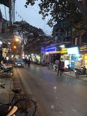 Hang Gai Street (Street of Hemp): Hang Gai Street