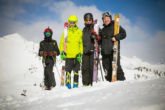 Golden, Canada: My Family at Kicking Horse