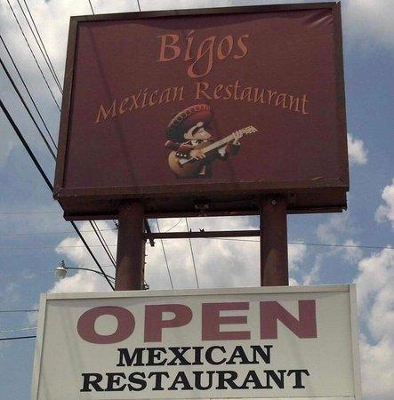 เซเลม, มิสซูรี่: Bigo's Mexican Restaurant