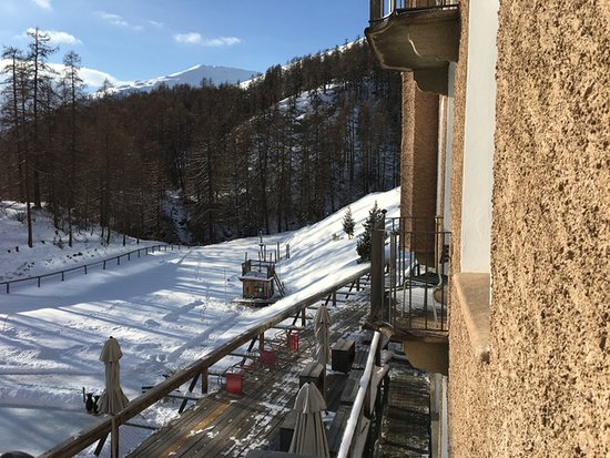 Zuoz, Switzerland: Winterlandschaft