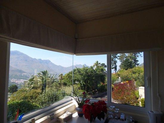Villa Montebello: jolie vue aussi du RDC