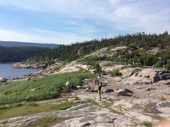 Tadoussac, Canada: le bout du sentier