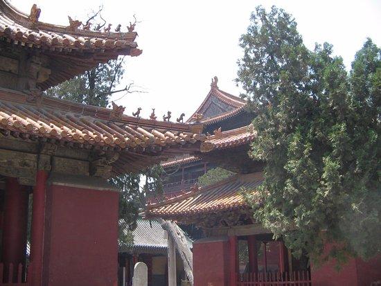 Qufu, Cina: архитектура крыш