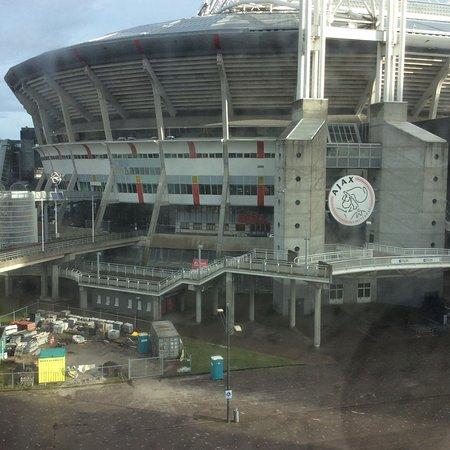 Ajax stadium....veiw from room.....