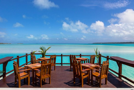 Aitutaki Lagoon Resort & Spa: Flying Boat Beach Bar & Grill