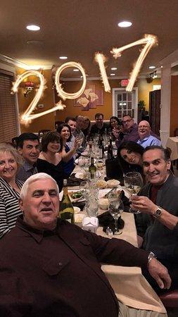 Souderton, Pensilvania: NYE Dinner 2017