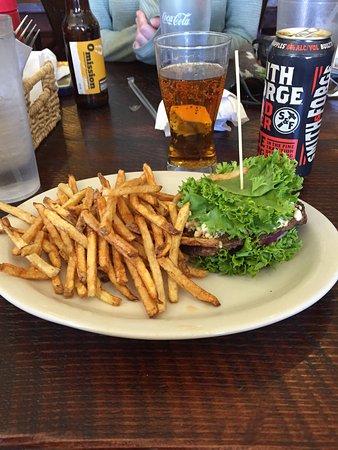 Víctor, ID: Protein Style Buffalo Burger!