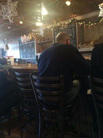 Rockville Centre, NY: View from the corner table in the rear