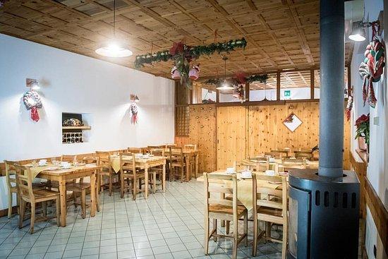 Alpe Strencia, Italien: sala colazioni