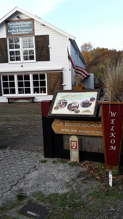 West-Terschelling, The Netherlands: welcome sign