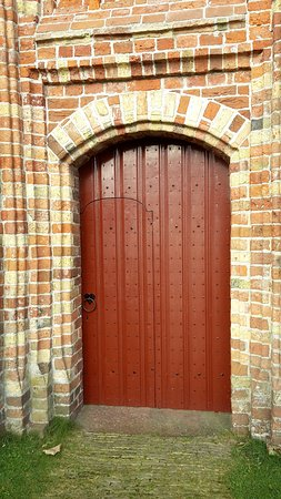 Terschelling, The Netherlands: doorway with smaller inner door in it