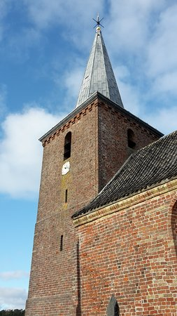 Terschelling, The Netherlands: tower and small clock face