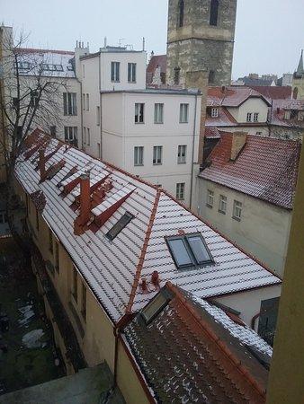 Hotel Praga 1: panorama dalla finestra