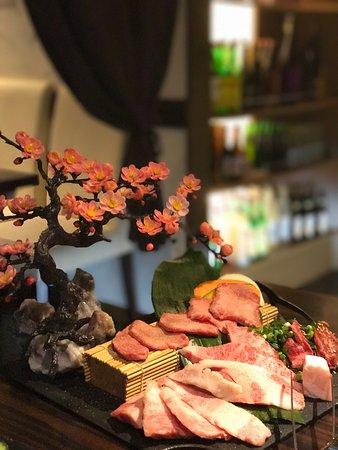 Sanmu, Japonya: Awesome selection of wagyu meat