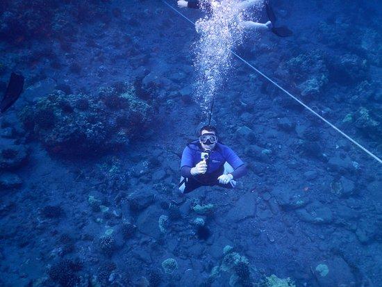 Maalaea, Hawái: Son filming me