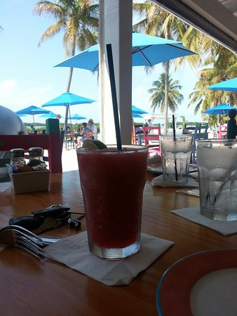 Morada Bay: From the covered tables